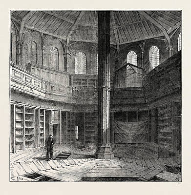 Restoration Drawing - The Chapter House Previous To Its Restoration by Litz Collection