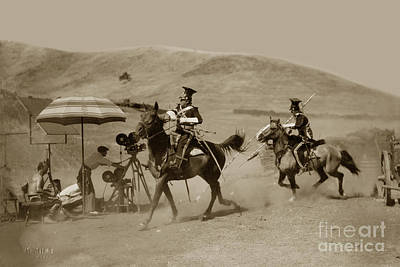 Firefighter Patents - The Charge of the Light Brigade 1936 by California Views Archives Mr Pat Hathaway Archives