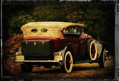 Photograph - The Charm Of History - Vintage Art by Jordan Blackstone
