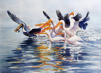 Painting - The Chase Of The Outsider by Roger Rockefeller
