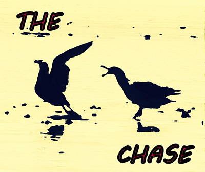 The Chase Art Print by Pamela Hyde Wilson