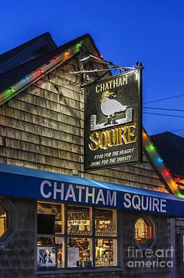 The Chatham Squire Art Print by John Greim