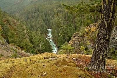 Photograph - The Cheakamus River Gorge by Adam Jewell