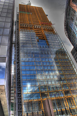 The Cheesegrater Print by Ash Sharesomephotos