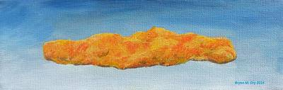 Rene Magritte Painting - The Cheeto by Bryan Ory