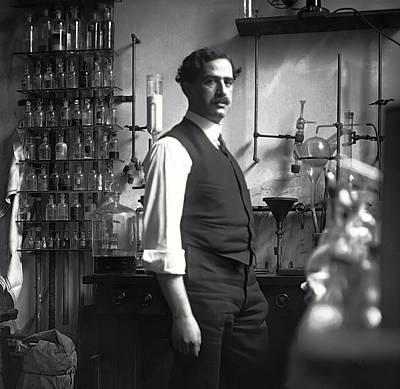 Labs Digital Art - The Chemist - 1912 by Daniel Hagerman