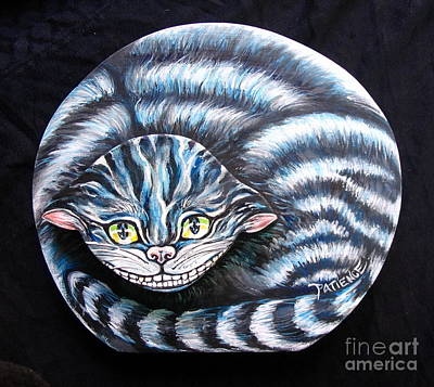 Painting - The Cheshire Cat by Patience A