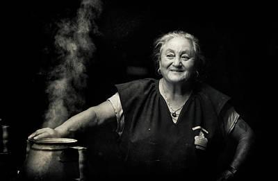 Portugal Photograph - The Chestnut Cook by Agostinho Teixeira
