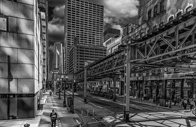 Photograph - The Chicago L by Erwin Spinner