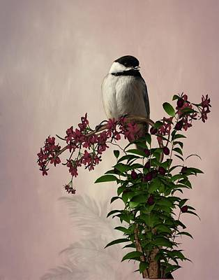 The Chickadee Art Print