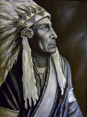 Painting - The Chief by Anne Barberi
