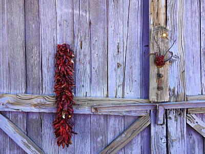Ristra Digital Art - The Chile Gate by Rachel Preston Prinz