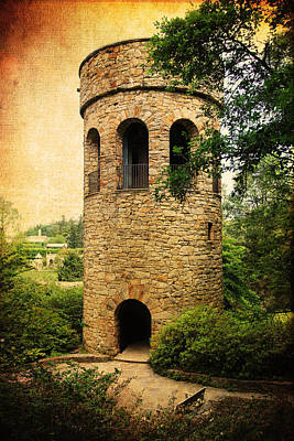 Photograph - The Chimes Tower by Trina  Ansel