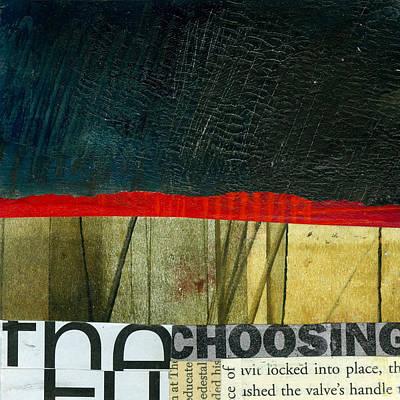 Grid Painting - The Choosing by Jane Davies