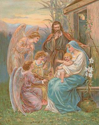 The Christ Child Art Print by English School