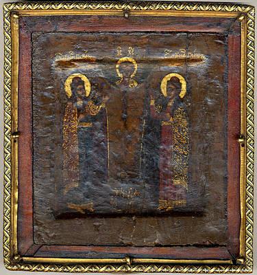 The Christ Child With Saints Boris Art Print