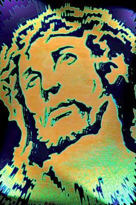 Digital Art - The Christ by Maria Urso
