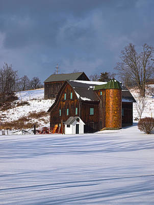 Photograph - The Christmas Barn by Joshua House