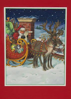Painting - The Christmas List by Lynn Bywaters