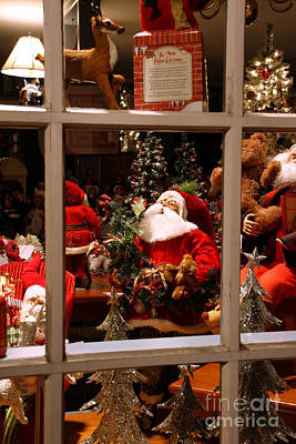 Photograph - The Christmas Shop Window II by Butch Lombardi