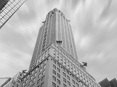 Landmarks Royalty Free Images - The Chrysler Building Royalty-Free Image by Mike McGlothlen