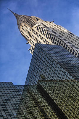 Chrysler Building Photograph - The Chrysler Building by Susan Candelario