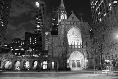Photograph - The Church by Eric Wiles