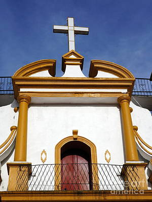 Photograph - The Church Of Guadalupe 3 by Rachel Munoz Striggow
