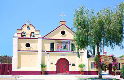 Photograph - The Church Of Our Lady Queen Of The Angels - La Iglesia De Nuestra Senora Reina De Los Angeles by Ram Vasudev