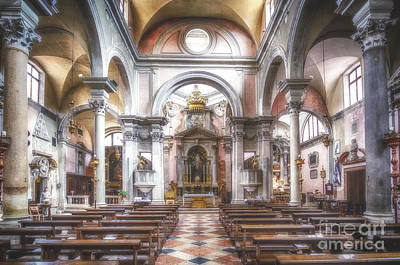 Photograph - The Church Of San Canciano Venice by Traven Milovich