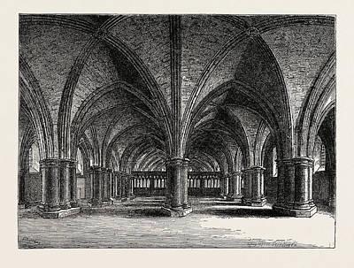 The Church Of St. Faith The Crypt Of Old St Art Print