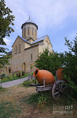 Tbilisi Photograph - The Church Of St Nicolas Inside The Narikala Fortress Tbilisi by Robert Preston