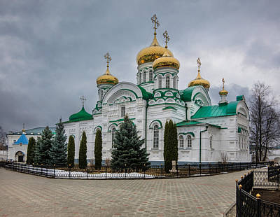 Mother Of God Photograph - The Church Of The Georgian Mother Of God by Alexey Stiop