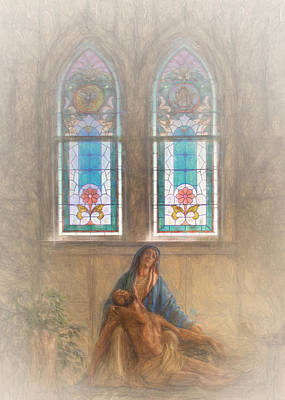 Photograph - The Church Of The Visitation by David and Carol Kelly