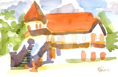 The Church On Shepherd Street V Art Print by Kip DeVore