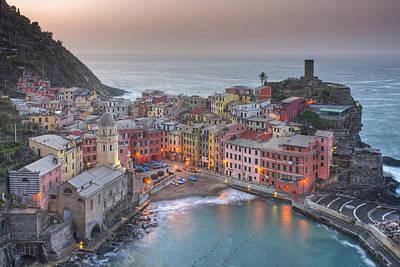 The Cinque Terre - Vernazza Morning IIi Art Print