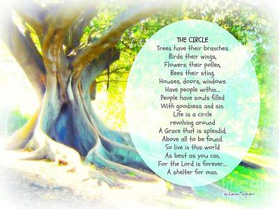 Photograph - The Circle by Leanne Seymour