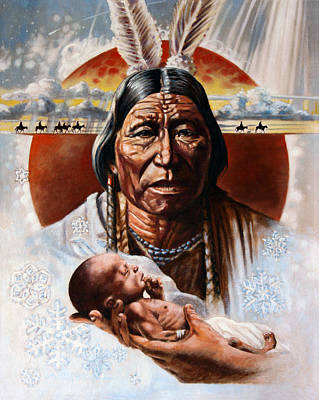 Painting - The Circle Of Life by John Lautermilch