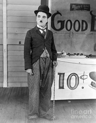 The Circus - Charlie Chaplin Art Print by MMG Archives