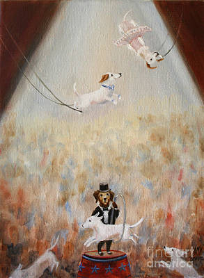 Painting - The Circus by Stella Violano