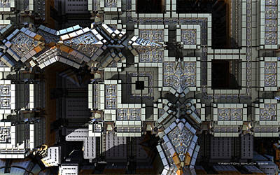 Arial View Digital Art - The Citadel - Arial View by Trenton Shuck