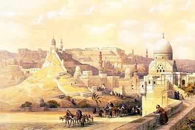 Photograph - The Citadel Of Cairo Residence Of Mehemit Ali by Munir Alawi