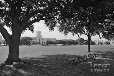 Photograph - The Citadel Summerall Field by University Icons