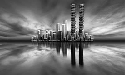 Metaphor Photograph - The City by Ant?nio Bernardino Coelho