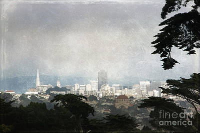 Photograph - The City By The Bay by Ellen Cotton