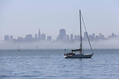 Sausalito Photograph - The City By The Bay by Michael Williams