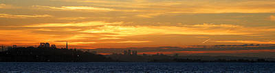 Photograph - The City From Across The Bay by Robert Woodward