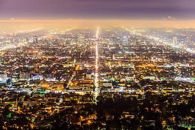 Photograph - The City Grid by Jason Chu
