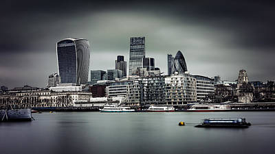 Photograph - The City Of London by Ian Good