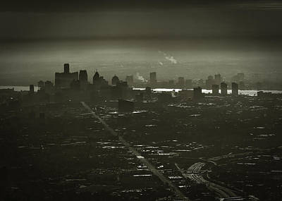 Photograph - The City by Mike Lanzetta